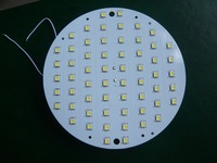 free shipping 5050 60SMD 10W ceiling light led bulb lamp downlight magnetic led panel plate  for roof lamp