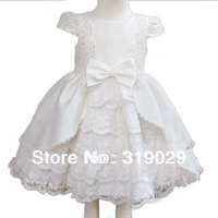 Kids clothing Princess dress 2013 baby Summer dresses flower Girl dress Lace Cap sleeve Hot sell Drop shipping