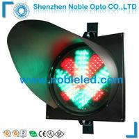 300mm driverway led  vehicle traffic arrow cross light