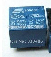 SONGLE PCB Relay 5 pins 5v 6v 9v 12v 24v(China (Mainland))