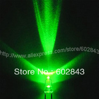 1000PCS 5mm Green Water CLEAR ULTRA BRIGHT LEDs LED 16000-18000 MCD