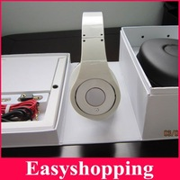 DHL/EMS Freeshipping Black/White Sealed box Studio Headphone Noise-Canceling Headset,High-Definition ON-Ear DJ earphone