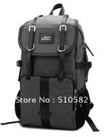 """SHISHA PANGMA "" Silver GreySeries-2012 New Men's Nylon Travel Sports Backpak / Mens Double Shoulder Computer (14"")Backpack"