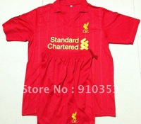 Liverpool jersey Free Shipping UEFA Champions 2012-2013  home red soccer jerseys soccer uniforms