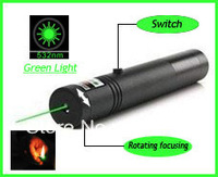 Free Shipping & Wholesale Price! 302 100mw 532nm Green Laser Pointer Pen Lighting Matches