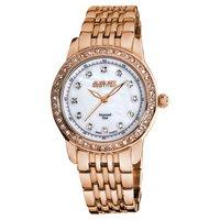 Free Shipping August Steiner Women's Diamond and Crystal Swiss Quartz Bracelet Watch