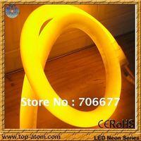 Stylish led rope light/360 degree shine/100 leds per meter/all color option/round shape dia 25mm/110V input--free shipping