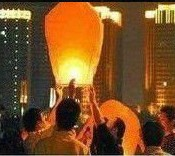 High quality flying paper sky lanterns Manufacturer selling flying paper sky lanterns Wish gift flying lantern(China (Mainland))
