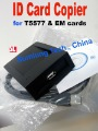 125KHz RFID ID Card Reader & Writer/Copier/Programmer + FREE Rewritable ID Card & KeyFob COPY ISO EM4100 EM4102 Proximity  T5577