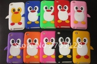 For Apple iPod Touch 4 Penguin Silicone Case