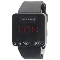 Free shipping 2012 swatchs New style Fashion touch watch,touch screen watch(China (Mainland))