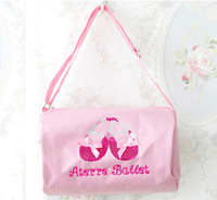 2012 Hot Sellin g5 Pcs  Child's Bags Girls Ballet Bags Pink   Free Shipping 0605017-BBP