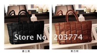 new arrival free shipping Ladies' fashion bag , messenger bag  PU hand bag Wholesale and Retail