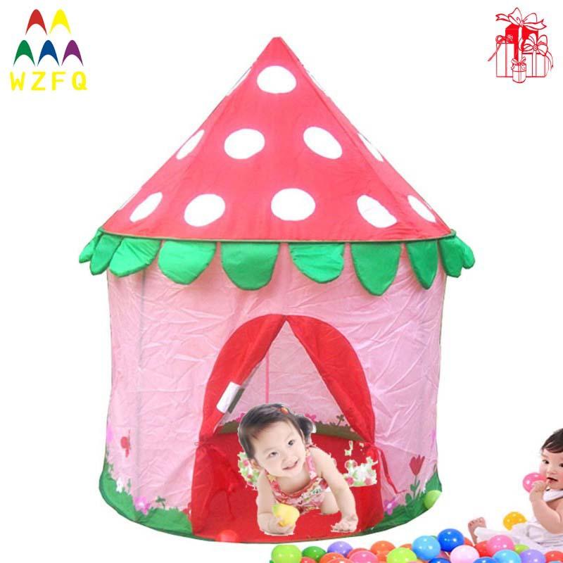 Mushroom-design-princess-castle-play-house-play-ground-games-play ...