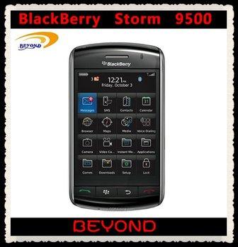 Original Blackberry storm 9500 mobile phone unlocked 3G smartphone dropshipping