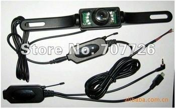 Free shipping Wireless Car Rear Backup Camera Reverse New Wireless Car Rear View IR Night Vision Camera for GPS N75