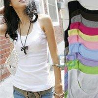 New Women's Ladies's Mini Sleeveless T-Shirt|Girl's Tank Tops|Ladies Cami Waistcoat Vests