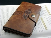 Genuine Leather wallet purse simple two fold long pocket  retail and wholesale hunter cowby style