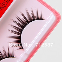 free shipping 10 Pair Thick False Eyelashes Eyelash Eye Lashes+Glue See original listing #8469
