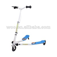 foldable tricker scooter, three wheel children scooter. scooter, swing scooter new typle