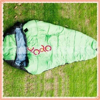 Free Shipping!Mummy Sleeping Bag,Double-deck Sleeping Bag,Camping Outdoor Sleeping Sack Green 89005063