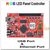 BX-5Q1 RGB Full color LED Window Panel Screen Control Card With Ethernet and USB port Support P3,P4,P5,P6,P7.62,P8,P10,P16