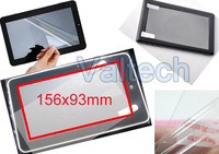 Universal Clear 7&#39;&#39; Screen Protector protective film for all 7 inch Tablet PC GPS MID PDA Screen guard + 100pcs Free shipping