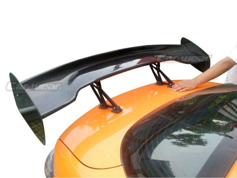 "57"" 3D 3DI GT JDM UNIVERSAL WING CARBON FIBER REAR SPOILER for VW VOLKSWAGEN(China (Mainland))"