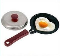 non stick frying pan Shaped Egg cook pan cover