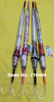 crystal handle rain umbrella, transparent clear umbrella, UPF 60, 30pcs/lot, Free shipping