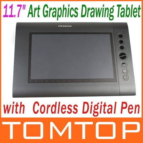 "11.7"" Art Graphics Drawing Tablet Hot Keys Cordless Digital Pen for PC Laptop Computer 4000LPI 200 RPS 2048 Levels Wholesale(China (Mainland))"