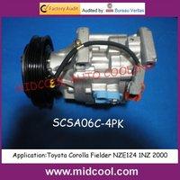SCSA06C AUTO AC COMPRESSOR  For Toyota Corolla(442100-3000)