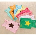 Free shipping!! Wholesale Baby Sleeveless vest Children summer top Star Candy colors baby tank tops 25pcs