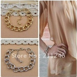 Factory Price 2012 New Arrival Bracelet Jewelry Hot Wholesale Gold Plated exaggerated female texture fashion multilayer Bracelet(China (Mainland))