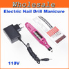 Free Shipping,Electric Nail Drill / Professional electric Nail drill Manicure machine(220V,EU Plug),  Dropshipping