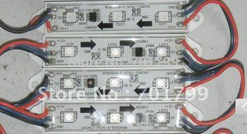 LED digital module,WS2811IC 5050 3LEDS;DC12V input,waterproof,20pcs a string;256 gray scale