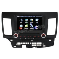 2007-2011 MITSUBISHI LANCER  8 Inch Digital HD Touchscreen DVD GPS player with SWC iPod BT Control