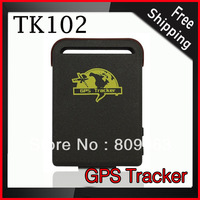 Free Shipping TK102 GPS Tracker - Smallest Mini Quad Band GPS Tracker Support TF Card