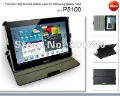 Upgrade Leather case for Samsung Galaxy Tab 2 10.1 P5100 case,10pcs/lot, DHL free shipping .