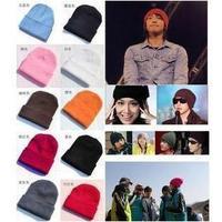 Retail Fashion Hip-Hop Knitted Beanie Acrylic Ski Hat / Skull Cap