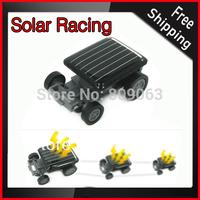 Free Shipping World Smallest Solar Racing Car Toy - Energy Saving