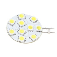 10LEDS SMD 5050 G4 LED Super Bright  12V 24V Boat Car Home Office Display Dimmable led G4 Bulb