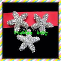 fashion style rhinestone star brooch for invitation cards