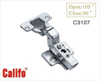 Hydraulic soft closing hinge / inset hinge C3107