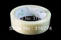 freeshipping 2pcs 30mm*25m Filament Tape fiberglass Reinforced tape