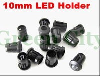 500pcs/lots+Free Shipping Plastic 10mm LED Holder Clip Cover  Stents Wholesale and Retail