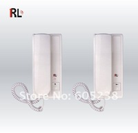 RL-0510b Free shipping 2.4GHz Wireless Dual way Door Phone Intercom With Two Indoor Units