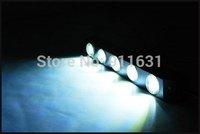 5LED Car Eagle Eye Lights Daytime Running Lamp High power Waterproof 12V 5W Mini Fog Driving Light Rogue Reversing Lamp #C113C