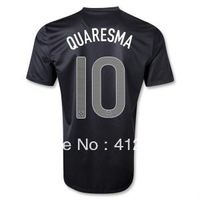 Portugal Quaresma Away Jersey 13/14