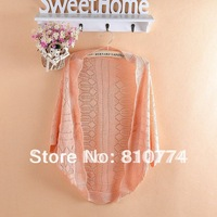 Big discount summer hollow-out sweater hollow-out sweater, prevent sun render unlined upper garment size suitable for XS - XXXL